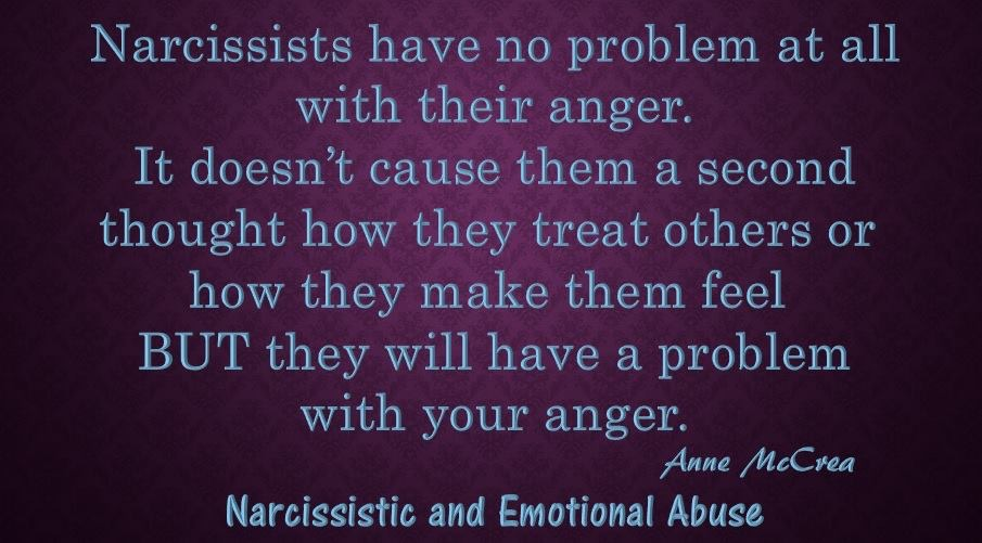 Narcissists have no problem at all...