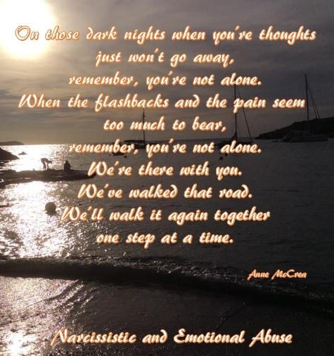 On those dark nights...