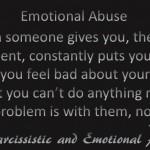 Emotional Abuse...