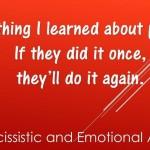 Something I learned...