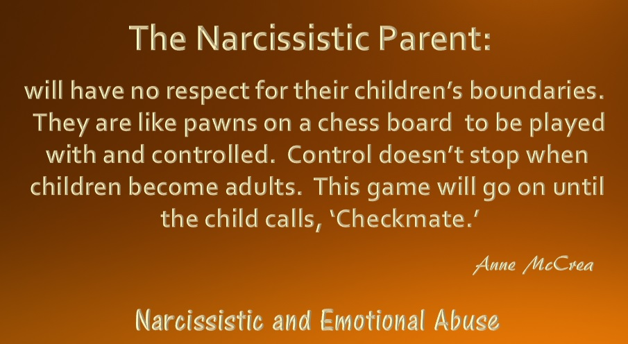 The Narcissistic Parent Of Special >> The Narcissistic Parent Narcissistic And Emotional Abuse