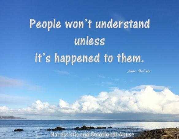 People won't understand