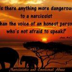 Not afraid to speak