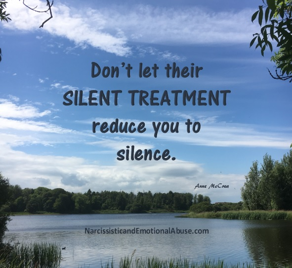 The Silent Treatment – Narcissistic and Emotional Abuse
