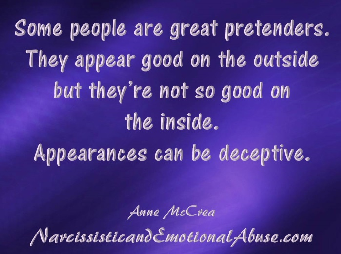 Appearances can be deceptive