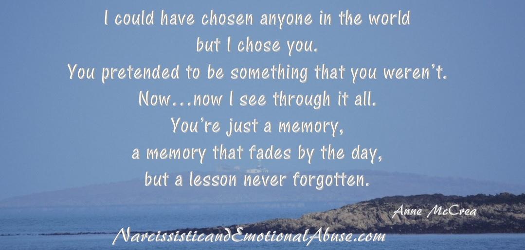Lesson never forgotten