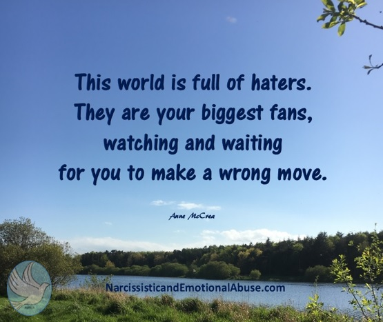 This world is full of haters