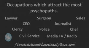 Psychopath Occupations