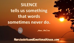 Silence Tells Us Something