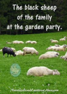 The Black Sheep At Garden Party
