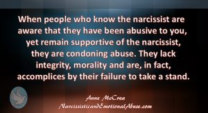 Accomplices to abuse