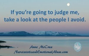 If you're going to judge me