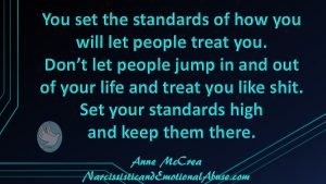 Set your standards high