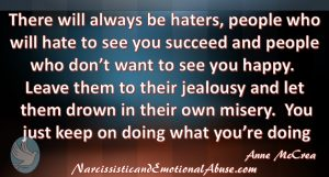 There will always be haters