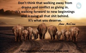 Walking forward